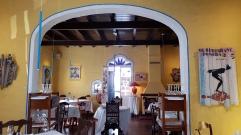 Interior del restaurante Es Molí de Foc